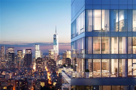 Rupert Murdoch is in contract to buy the top four floors of new Manhattan condo One Madison
