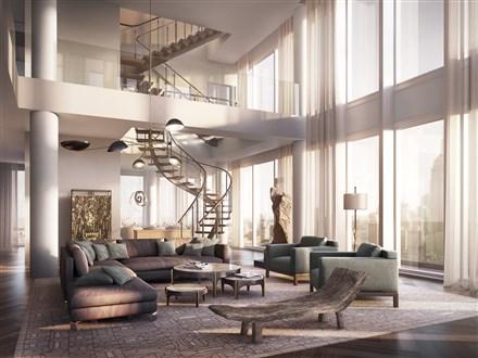 6,850-square-foot triplex penthouse
