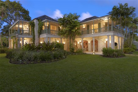 The 2½-acre 'Four Winds' estate on the island of Barbados has listed for $55 million.