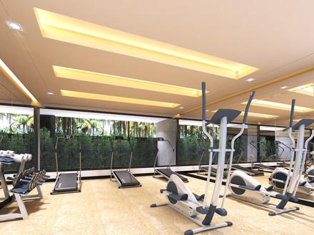 Dinso Residence, Patong, Phuket Gym