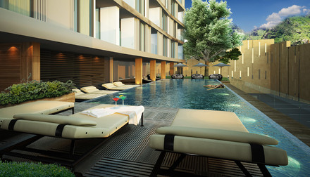 Dinso Residence Patong pool