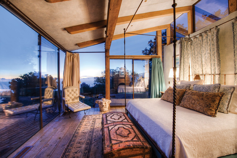 Big Sur luxury home bedroom