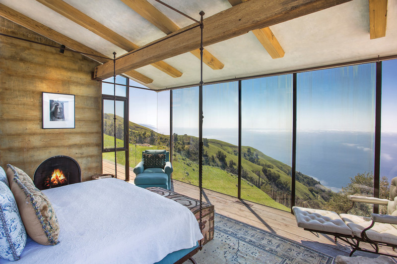 Big Sur luxury bedroom