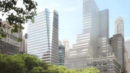 美国纽约曼克顿商业大厦