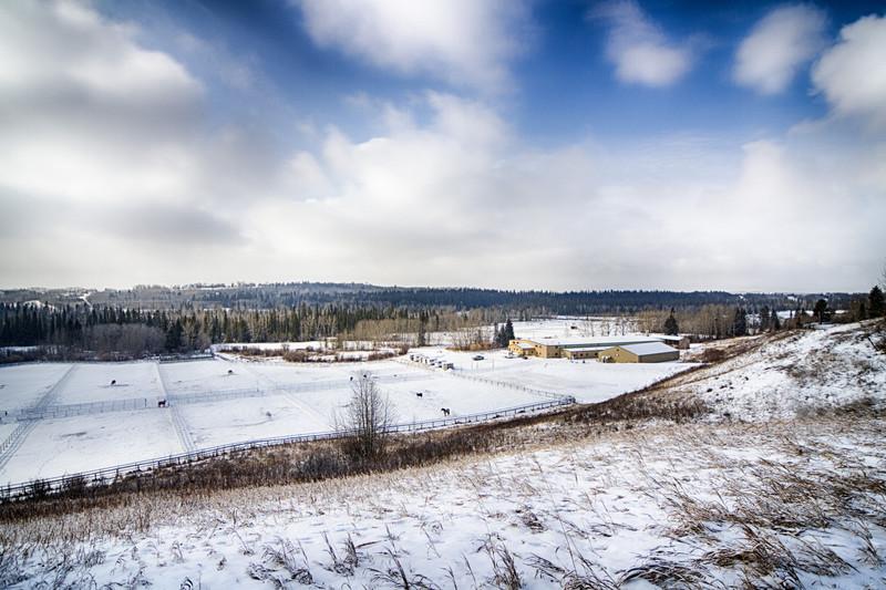 160-acre property Calgary Canada