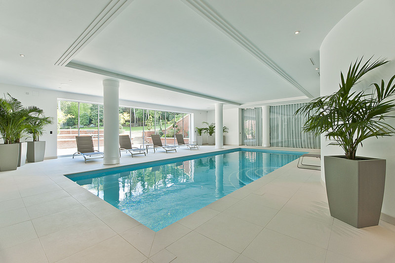 Mansion Surrey indoor swimming pool