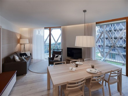 Edel Weiss Residences Matteo interior