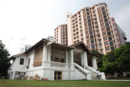 Singapore most expensive bungalow