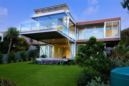 Marcus Beach House by Robinson Architects