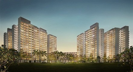 The Centrale 8 DBSS development Tampines
