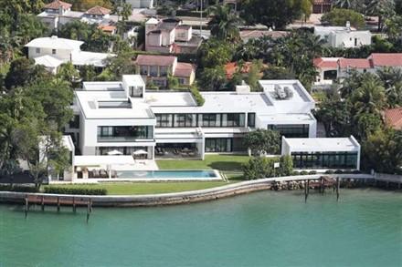 Alex Rodriguez Miami Waterfront Home
