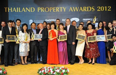 Thailand Property Awards 2012 winners