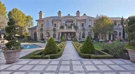 Adrienne Maloof Beverly Hills home