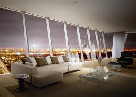 Hermitage Plaza luxury apartment