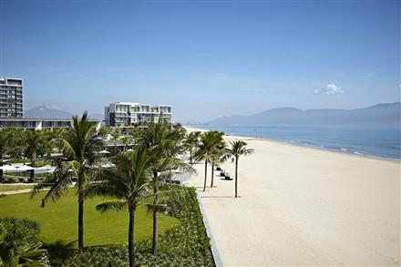 beach front Hyatt Regency Danang Resort and Spa