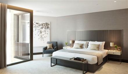 Kings Gate London SW1 bedroom