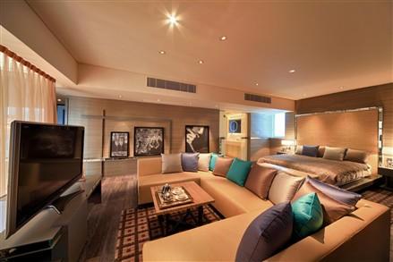 The Waterside Macau living room