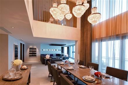 The Waterside Macau dining room
