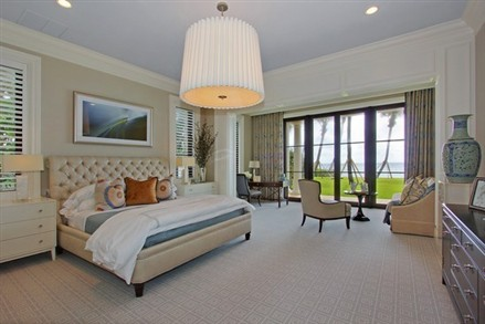 Mansion in Manalapan bedroom