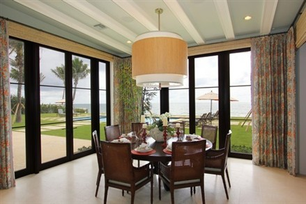 Mansion Manalapan dining room