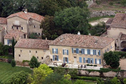 Brad Pitt & Angelina Jolie's French Chateau