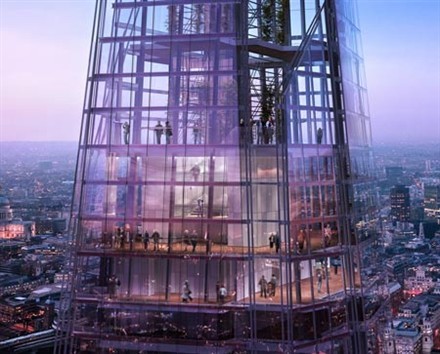 Shard London Bridge starts construction