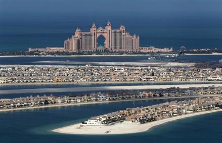 dubai islands of the world sinking. Dubai#39;s Palm Island may Sink