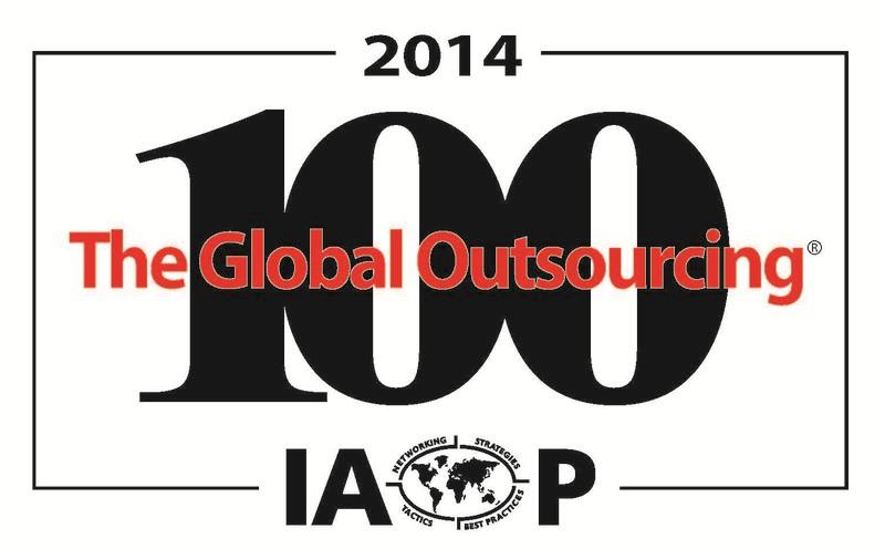 IAOP公布2014年全球外判100强- 高力国际荣获第五名