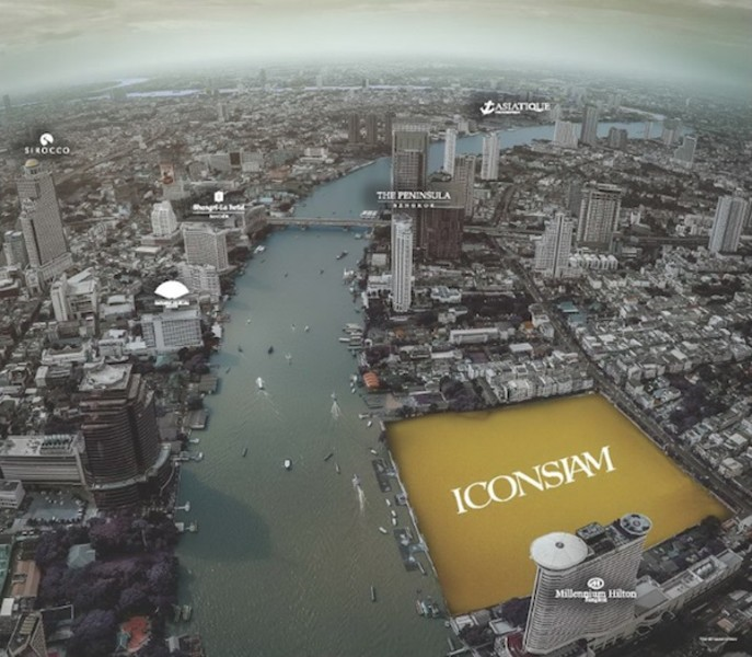 IconSiam luxury riverside complex in Bangkok