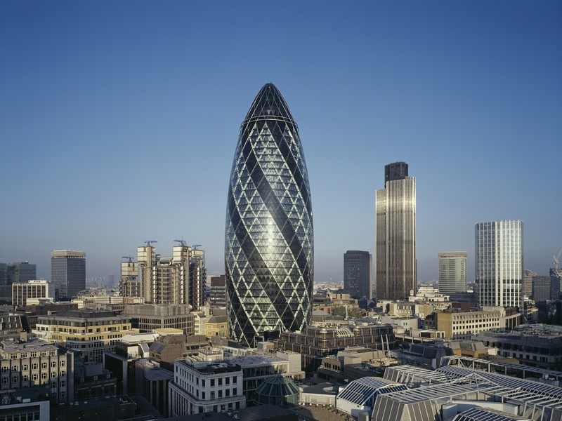London's gherkin on the market for £650 million