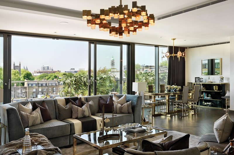 The Candy Brothers List a London Penthouse for About $50 Million