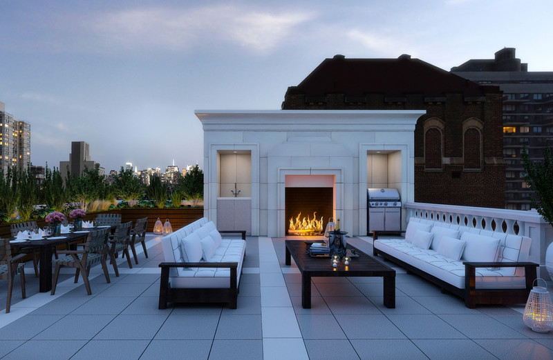 Manhattan Penthouse With Private Outdoor Pool
