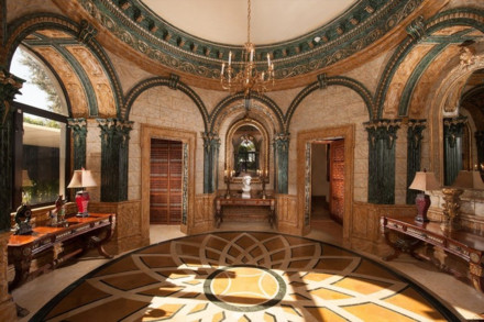 富丽堂皇欧式宫殿背景素材