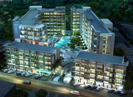 APUS condos nearly sold out in Pattaya