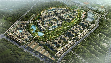 Vietnam - Celadon City complex officially introduced to public