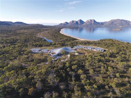 The Saffire Freycinet Resort in Tasmania