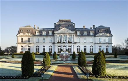 Chateau d'Artigny in France, estate of the day