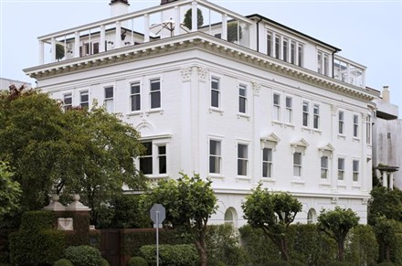 San Francisco Mansion Lists for $32 Million