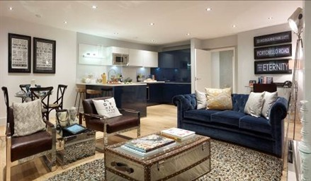 Hamptons International Introduces Contemporary London  Residential Property Portobello Square to the Hong Kong Market