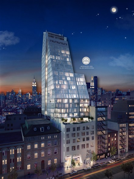 New Manhattan condo 35XV more than half sold