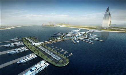 Palm Jumeirah Mega Yacht Marina