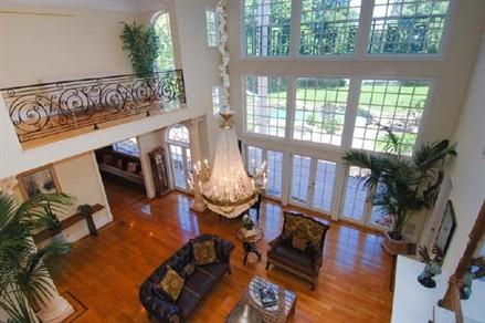 David Hasselhoff living room