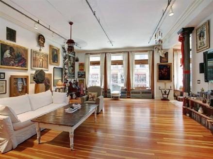 Whoopi Goldberg Soho loft
