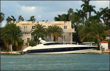 Scott Storch Miami Yacht