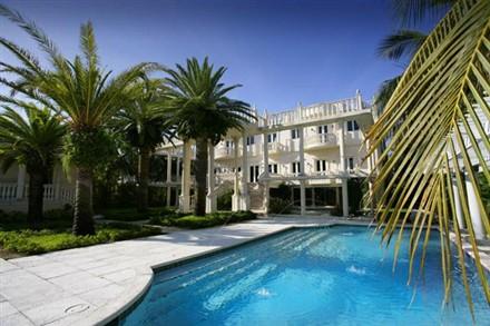 Scott Storch Miami Mansion Pool