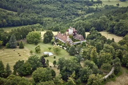 Knights Templar Castle, France