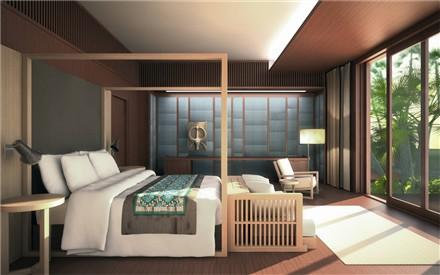 Bulgari Bali Bedroom