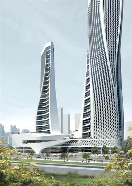 Raffles City Hangzhou by UNStudio