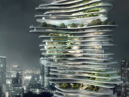 MAD Architects Urban Forest China