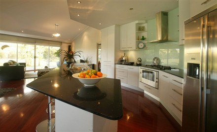 Rotating house interior